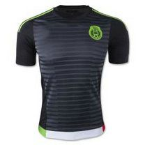 new arrival 18ead 06adc 2015 Mexico Soccer Team Home Black Replica Jersey [A1 ...