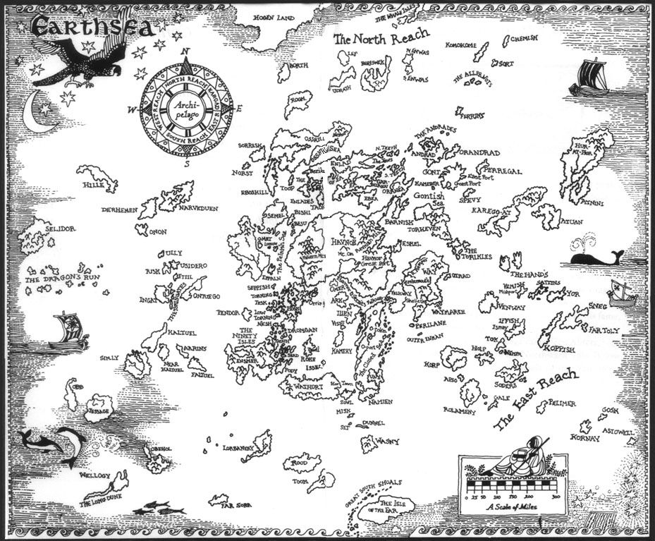 An Index of Dozens of Maps from Epic Fantasy Novels | Oh The Places