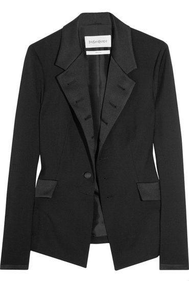 b87a6acdb7a Yves Saint Laurent Le Smoking tux jacket | Fashion | Smoking jacket ...