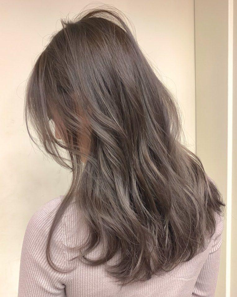 髪 色 おしゃれまとめの人気アイデア Pinterest Maria ブルネット