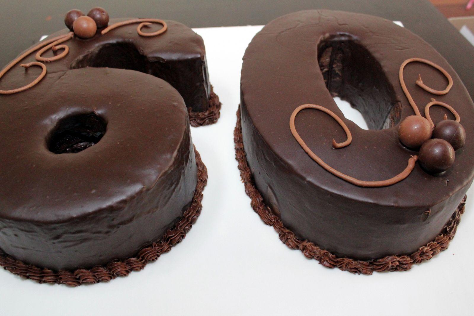 30th birthday cake ideas - chocolates   Number cakes, Cake ...