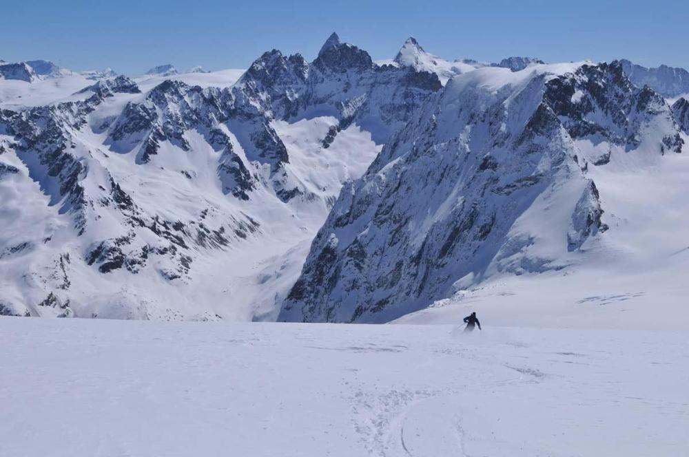 Haute Route From Chamonix to Zermatt on touring skis