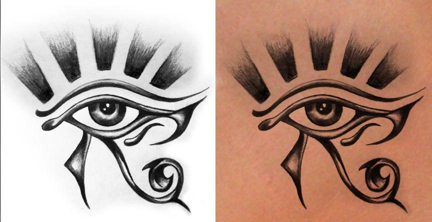 Egyptian Eye Design