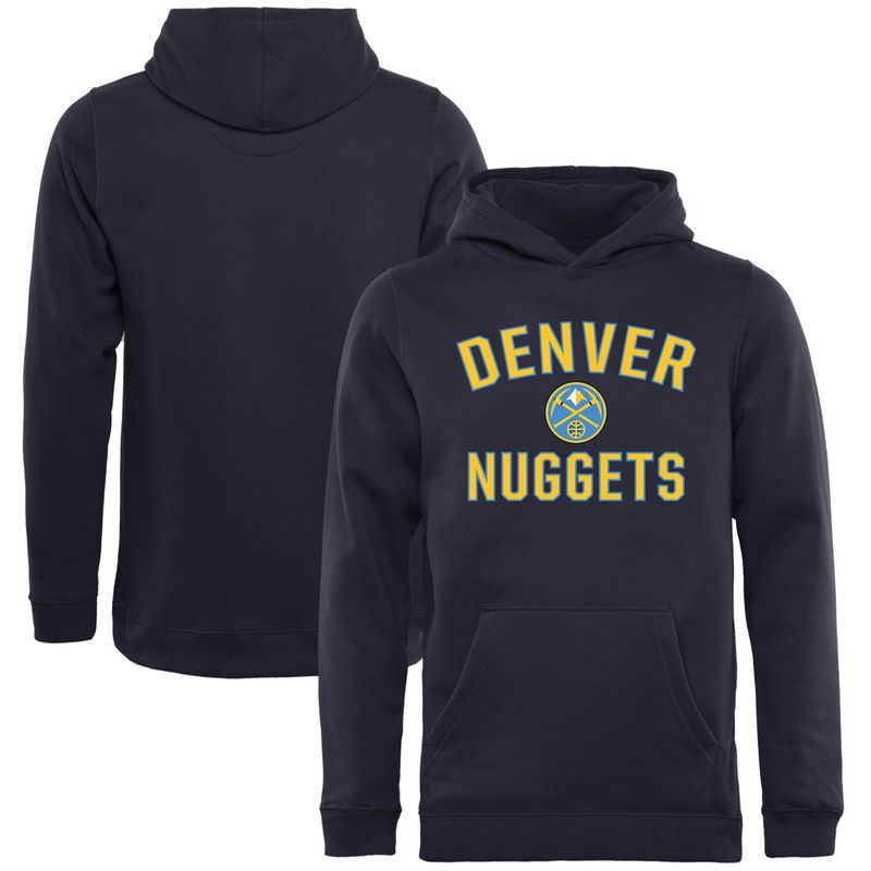 finest selection c7d0d 4da97 Denver Nuggets Youth Victory Arch Pullover Hoodie - Navy ...