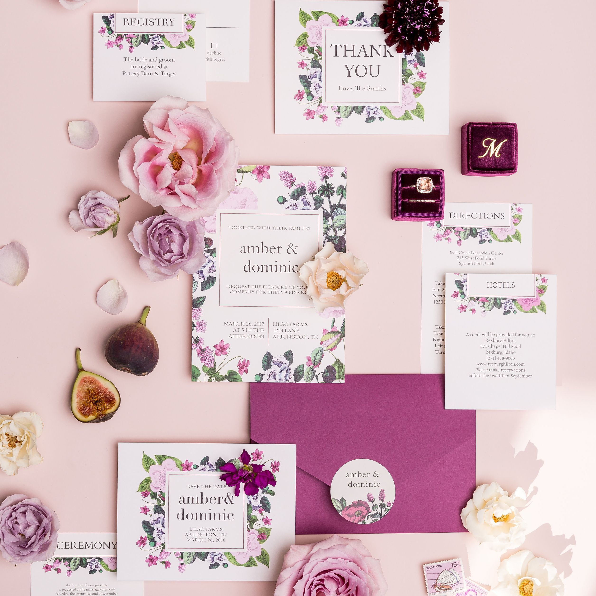 Feeling pretty in pink This floral suite is for you planawedding