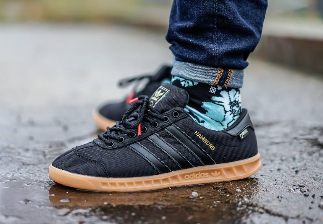 best loved 19135 28c67 adidas Originals Hamburg Gore-Tex  Black