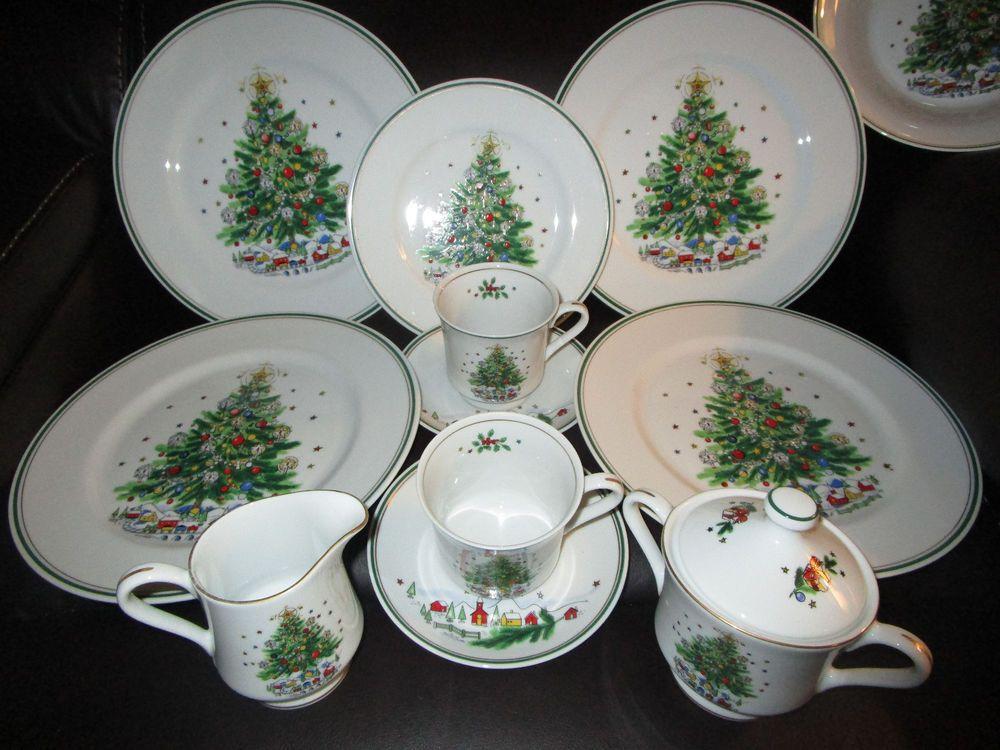 eve china christmas Vintage salem