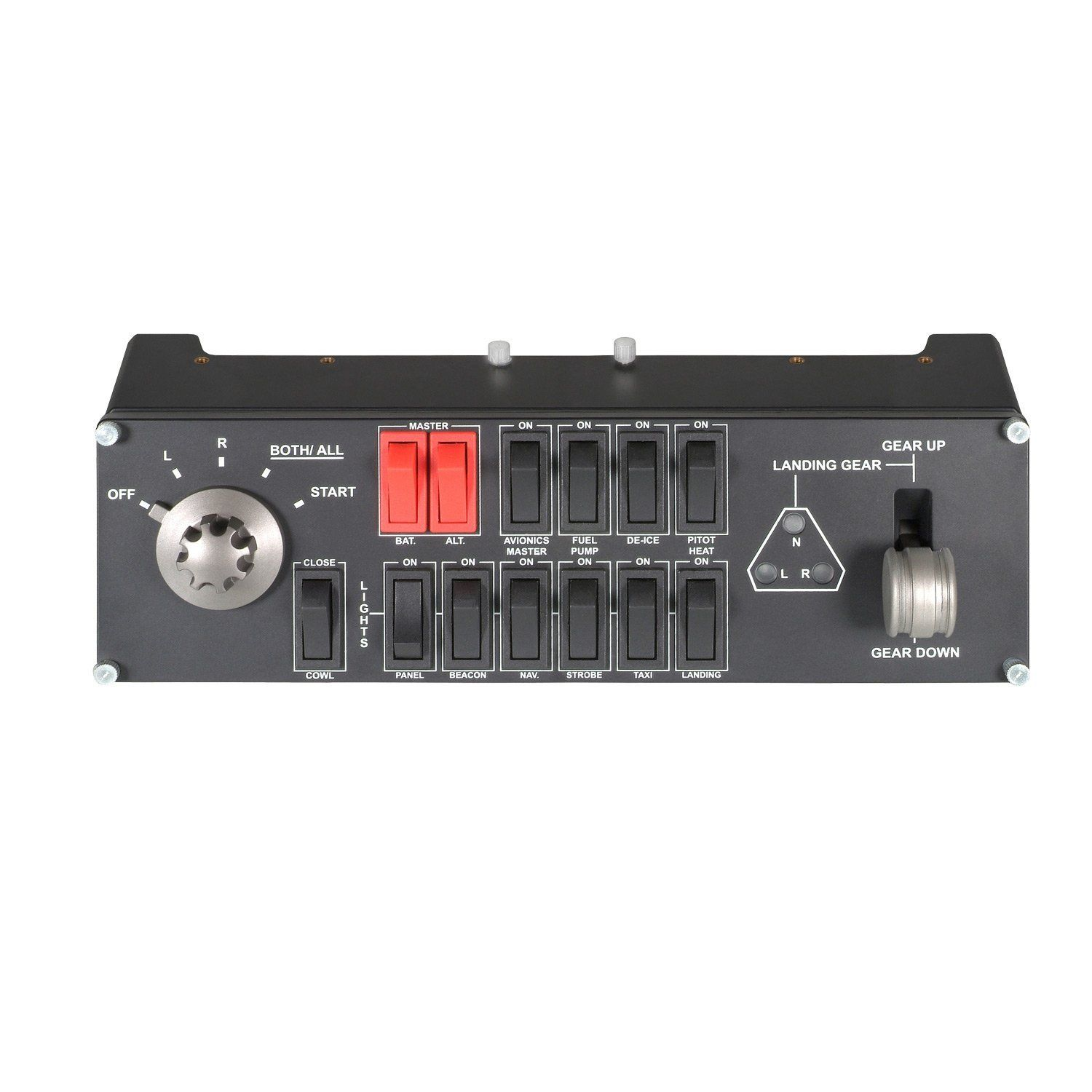 Console Informatique Fly Saitek Pz55 Pro Flight Switch Panel Amazon Fr Informatique