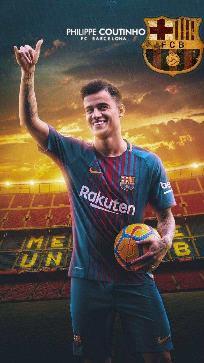 Coutinho Barcelona Android Wallpaper Fotos de fútbol