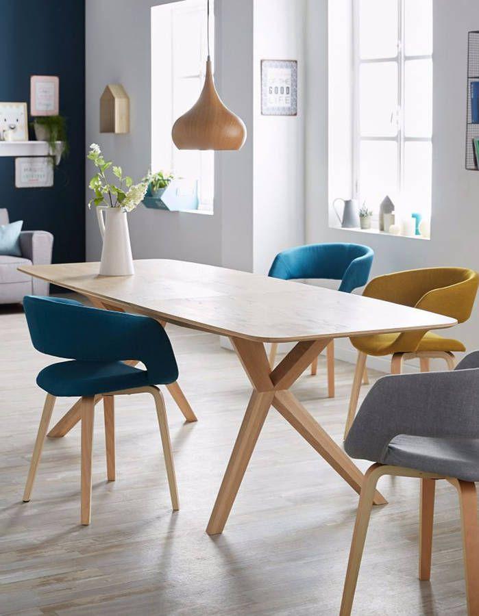 Grande table à manger : découvrez notre sélection de grandes tables à manger - Elle Décoration