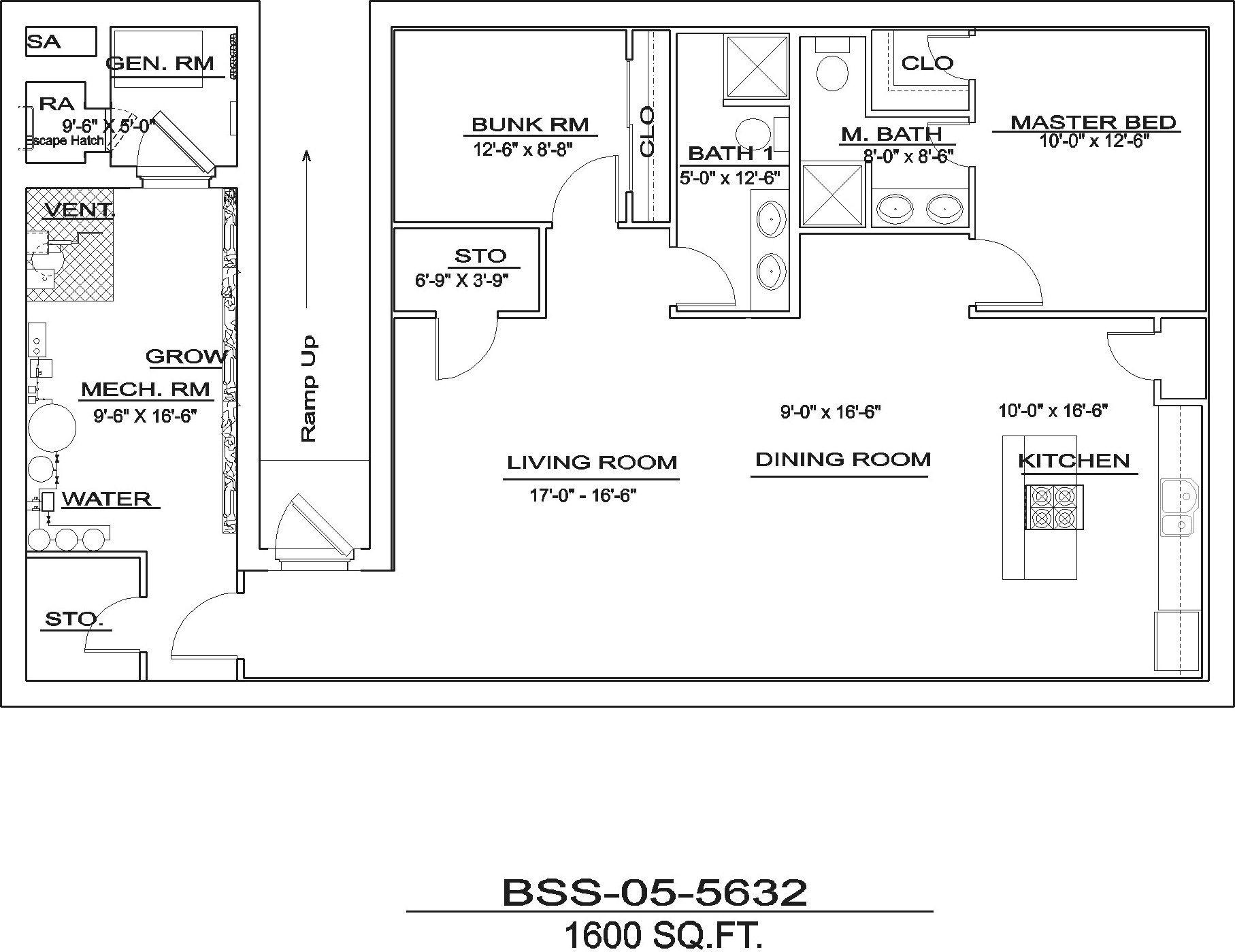 Bss055632 home design floor plans floor plan design