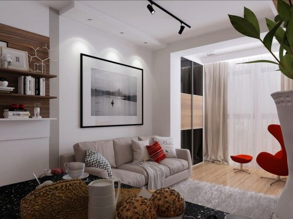 4 Super Tiny Apartments Under 30 Square Meters Includes Floor Plans Small Apartment Design Apartment Design Small Apartments