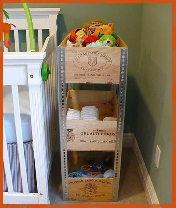 Con cajas de vino juguetes metales y vinos for Muebles con cajas de madera recicladas