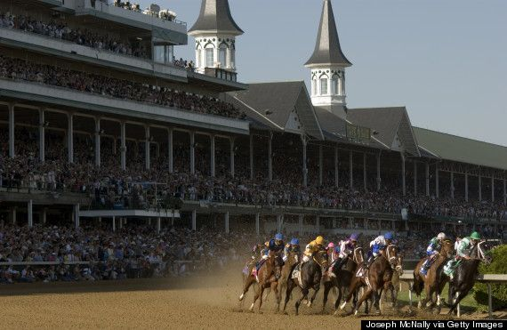 Check out the home of the Kentucky Derby.