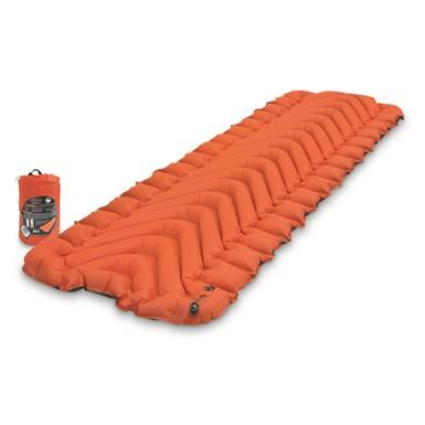 Klymit Insulated Static V Air Sleeping Pad Camping