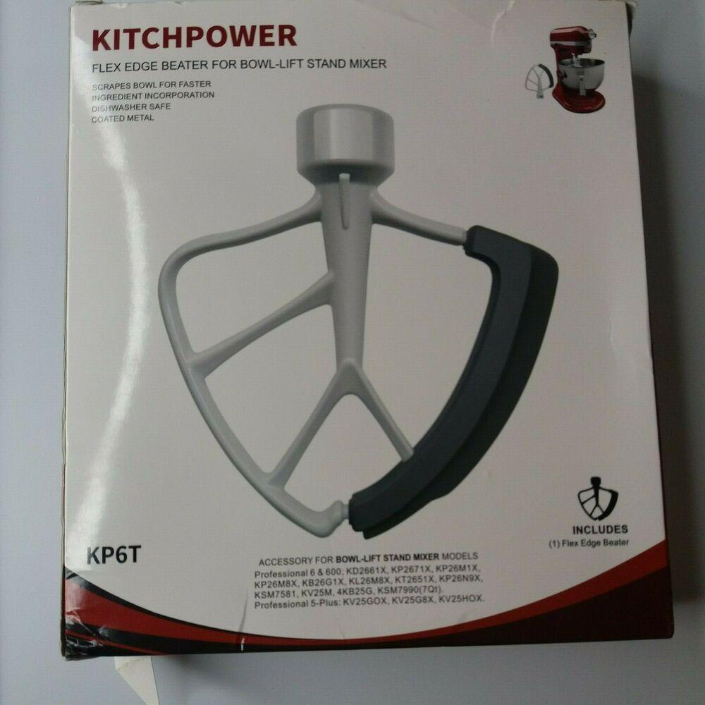 kitchenaid 6 qt bowl lift flex edge beater