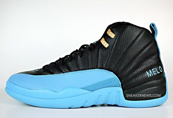 Air Jordan 12 Carmelo Anthony PE Denver Nuggets Away  3da4cfe1c