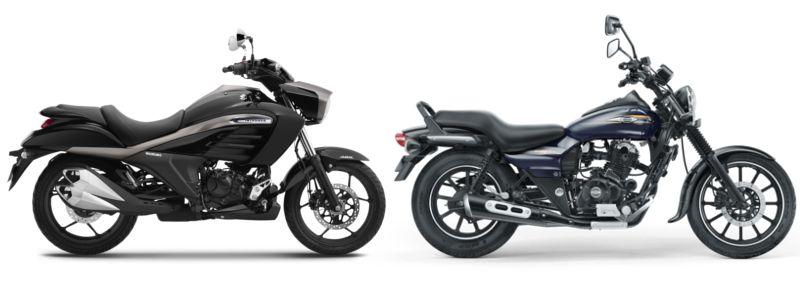 Suzuki Intruder 150 Vs Bajaj Avenger 150 Street Avengers