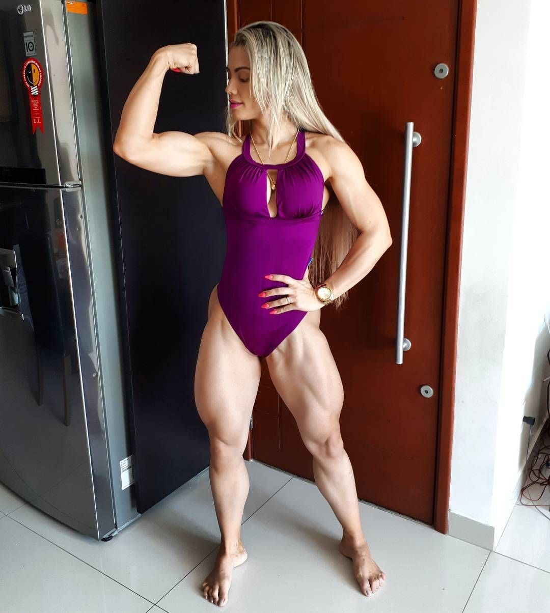Brazilian bodybuilder woman