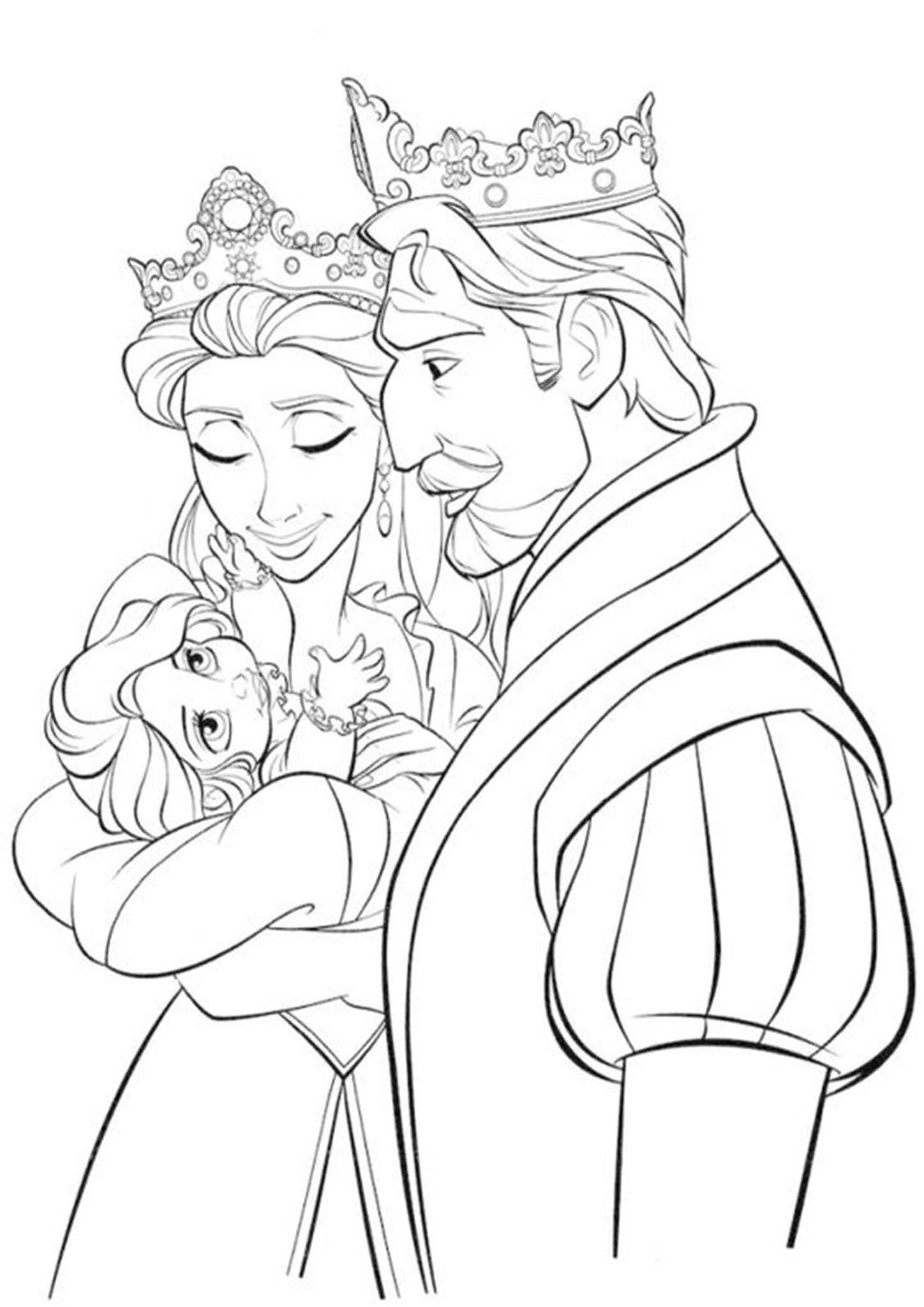 Free & Easy To Print Tangled Coloring Pages | Tangled ...