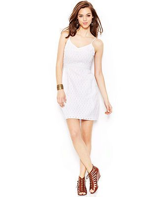 Lucky Brand Eyelet Dress
