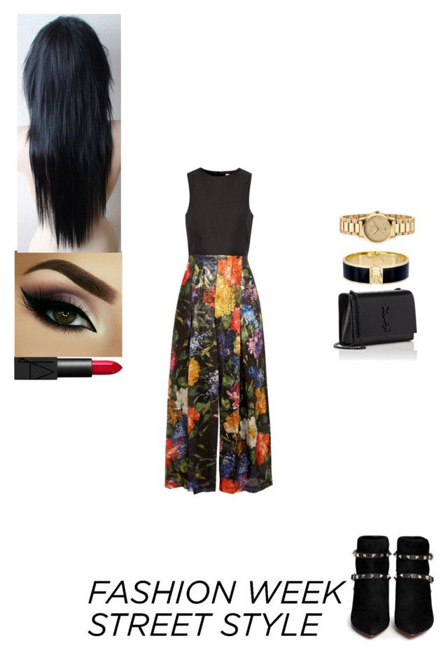 """""""Day 1"""" by insafsat on Polyvore featuring Merchant Archive, Valentino, Yves Saint Laurent, Alexander McQueen, Gucci and NARS Cosmetics"""