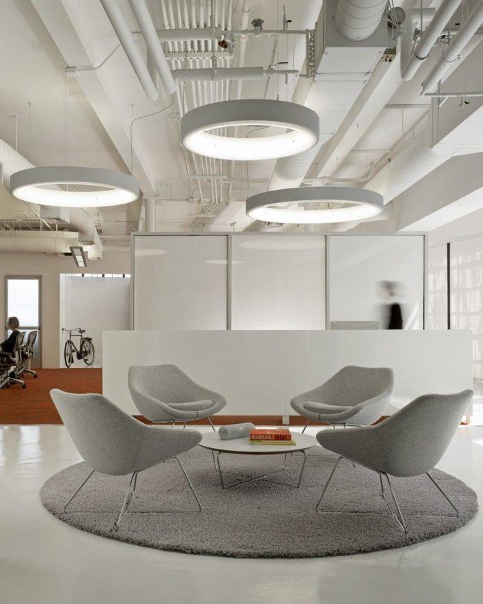 construccion y obras de oficinas Más Office lights Pinterest