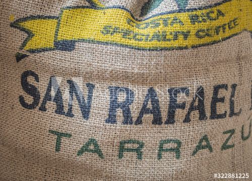 Coffee Bag Stamped Costa Rica Specialty Coffee , #AD, #Stamped, #Bag, #Coffee, #Specialty, #Rica #Ad
