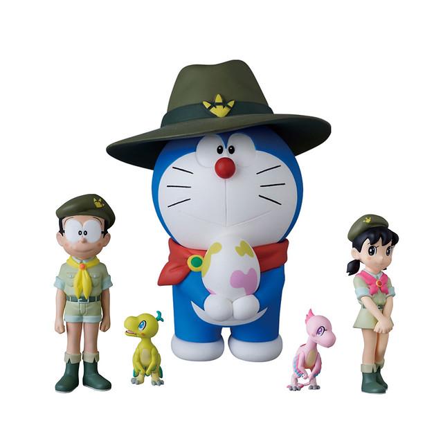 與可愛恐龍的奇幻冒險 medicom toy udf 系列 哆啦a夢 大雄的新恐龍 映画ドラえもん のび太の新恐竜 玩具人toy people news anime fnaf doraemon toy people