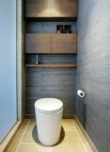 10 façons d\'arranger la déco de ses WC | Pinterest | Cuvette de wc ...