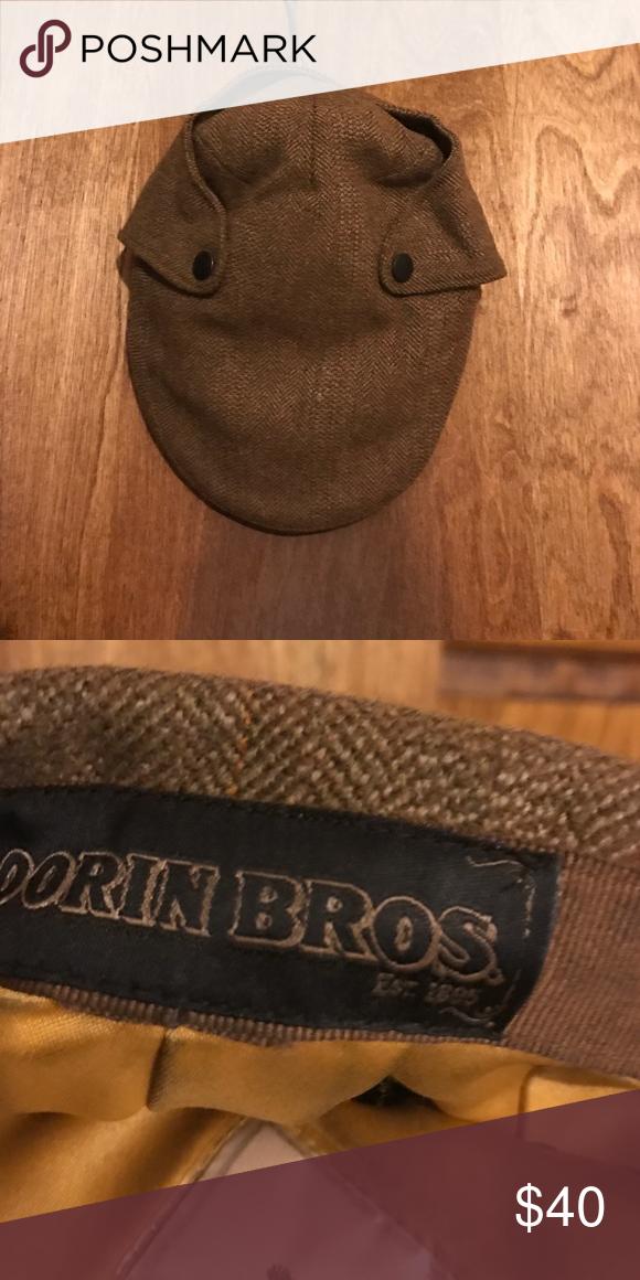 Men's hat News paper boy men's wool hat Goorin Brothers Accessories Hats