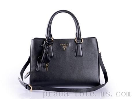 dbb17d24def2 Fashion  Prada BR4898 Handbags in Black Outlet store