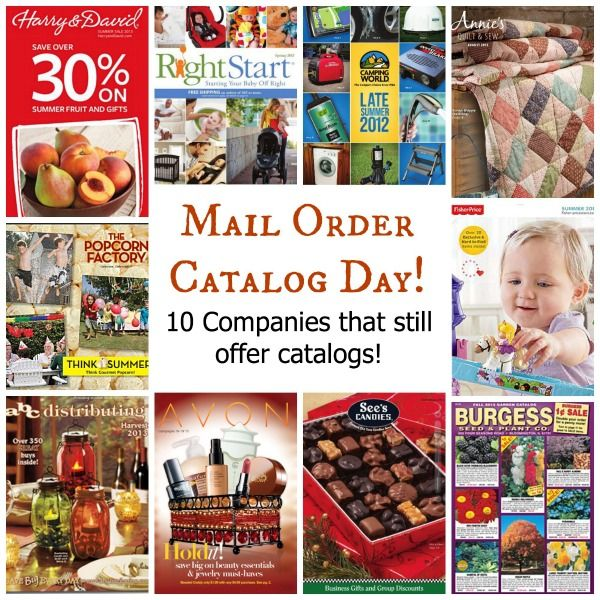 Christmas Mail Order Catalog.Like Mail Order Catalogs These 10 Companies Still Offer Them Upon