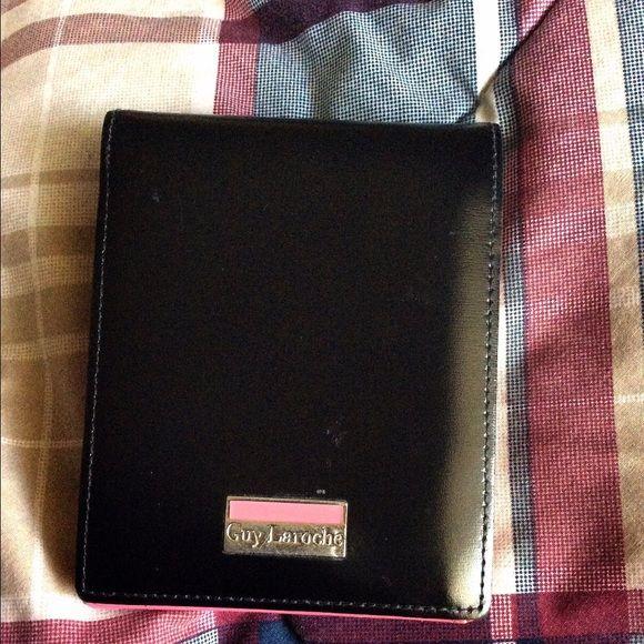 005190376538 Two-Tone wallet Cutie black pink. Lots of card slots. Has some wear Guy  Laroche Bags Wallets