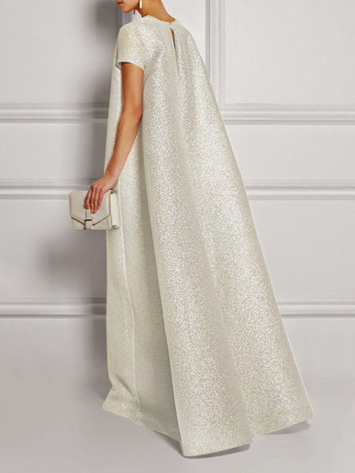 Chicdore Prom Dresses Formal Dresses Prom Shift V Neck Glitter
