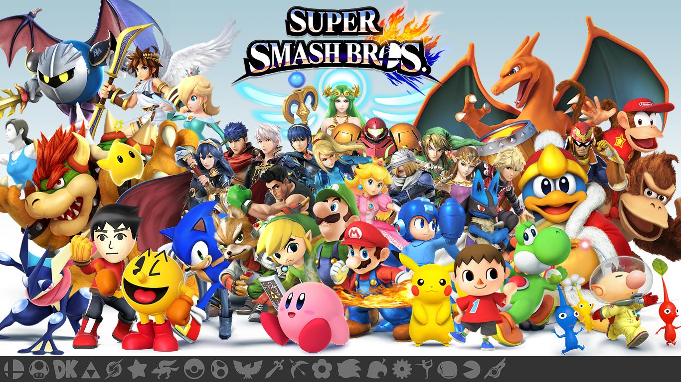 Super Smash Bros Wii U 3DS Wallpaper By Seancantrell On DeviantArt
