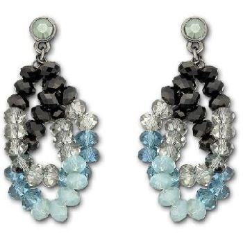 Glamour Mocca Earrings from Swarovski