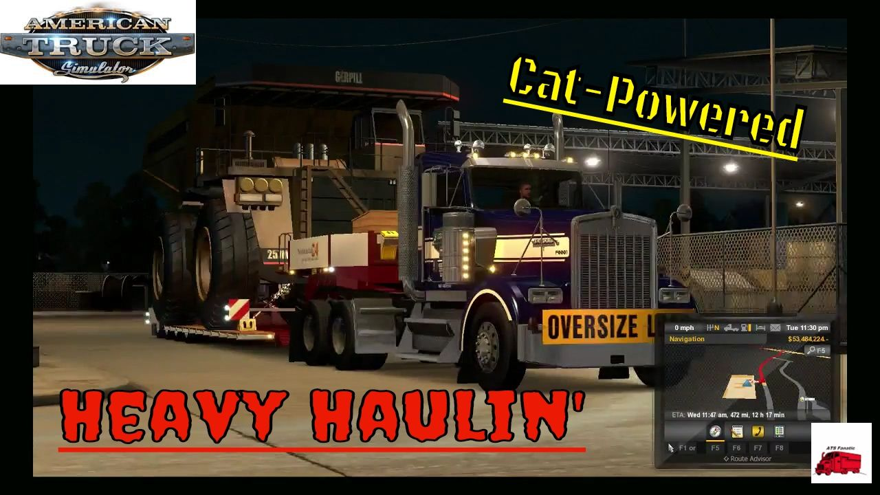 Oversized Load | Heavy Haul Mod | American Truck Simulator