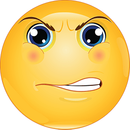 This High Quality Angry Face Emoticon Will Look Stunning When You Use It In Your Facebook Comment Or Chat Messenger Us Funny Emoticons Emoticon Faces Emoticon