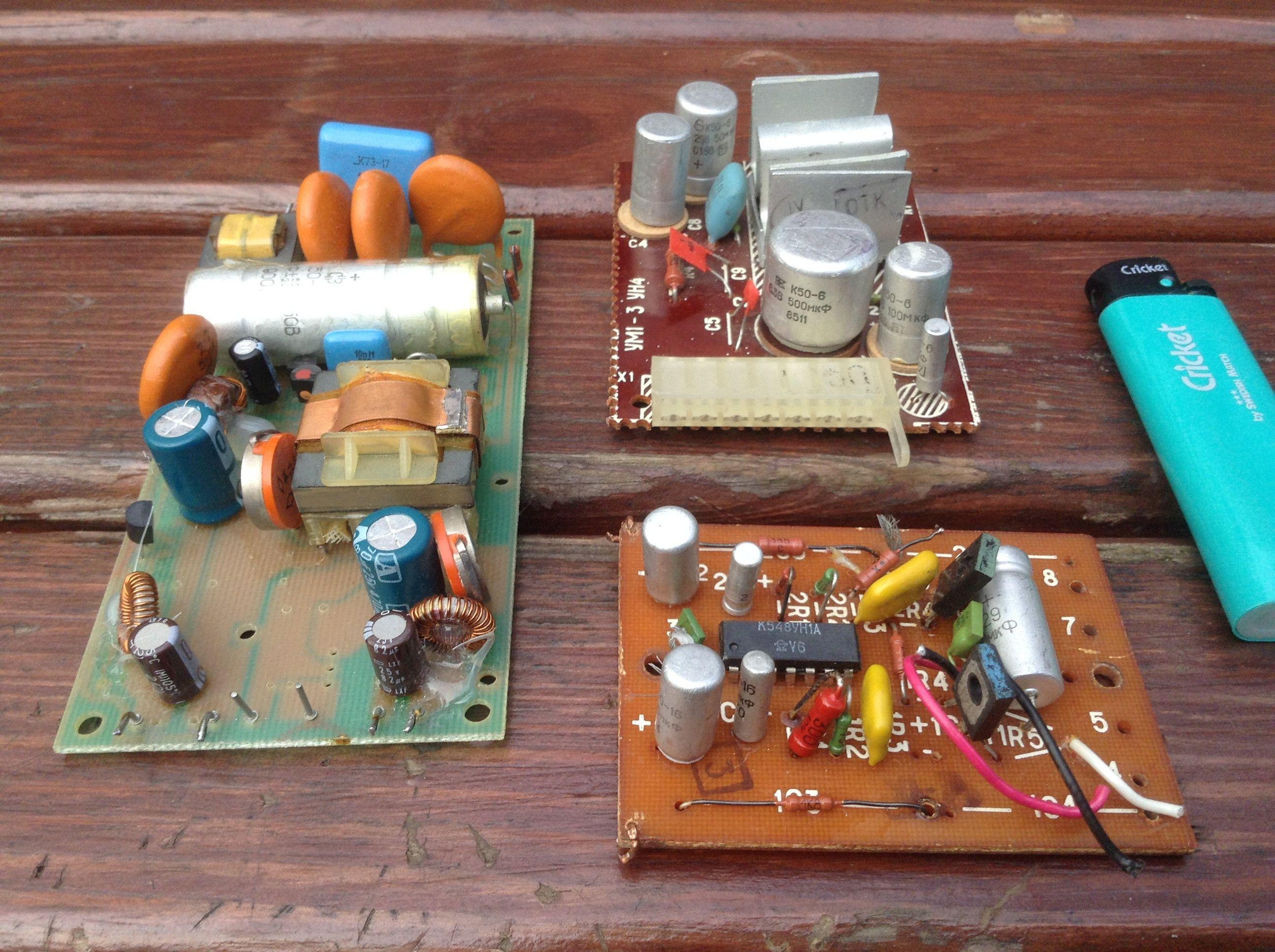 Soviet Vintage Tv Circuit Board Old Circuit Board Assemblage