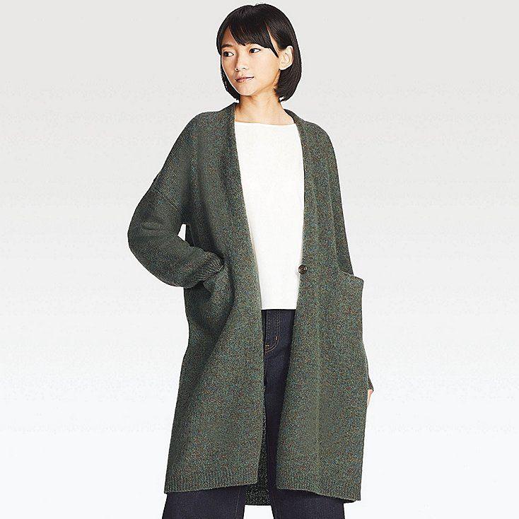 a2468bee240d Women melange wool coat | I wear this. | Coat, Wool coat, Coats for ...
