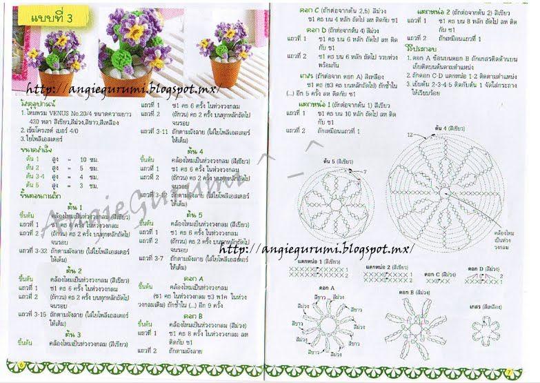 Amigurumi DIY by AngieGurumi: free   Diseño   Pinterest   Cactus ...