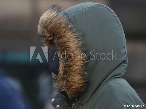A person wearing a mask walks in the Royal Mile in Edinburgh, Scotland , #Affiliate, #mask, #walks, #person, #wearing, #Edinburgh #Ad