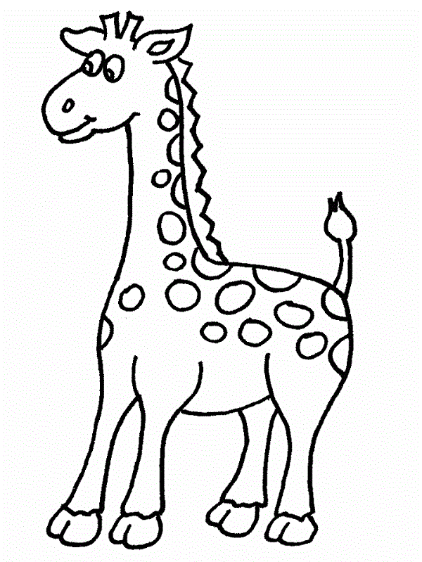 girafe (avec images) | Coloriage animaux, Coloriage ...