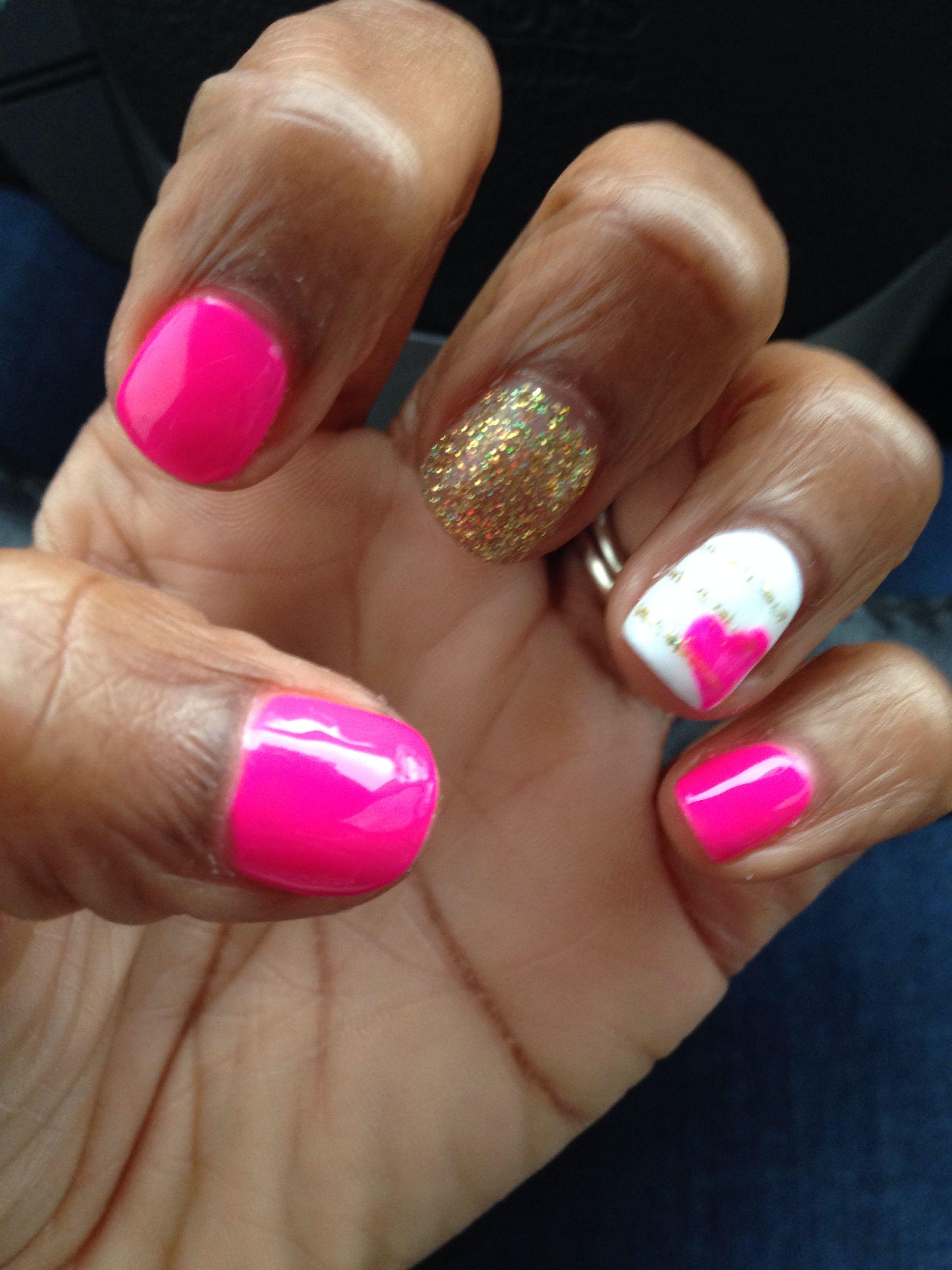 Cute #shellac #summer #nails