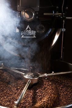 The Aroma Of Fresh Coffee Beans One Of The Best Smells Everrrrr In 2020 Coffee Beans Coffee Roasting Coffee Roasters
