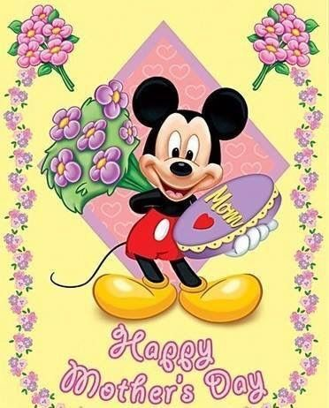 Disney Mother S Day Mickey Mouse Birthday Mickey Mouse Memes Mothers Day Cartoon