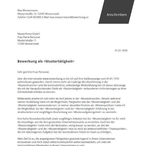 Pin Von Job Resume Auf Job Resume Samples: Professionelle Bewerbungsvorlage Für Word Mit Deckblatt