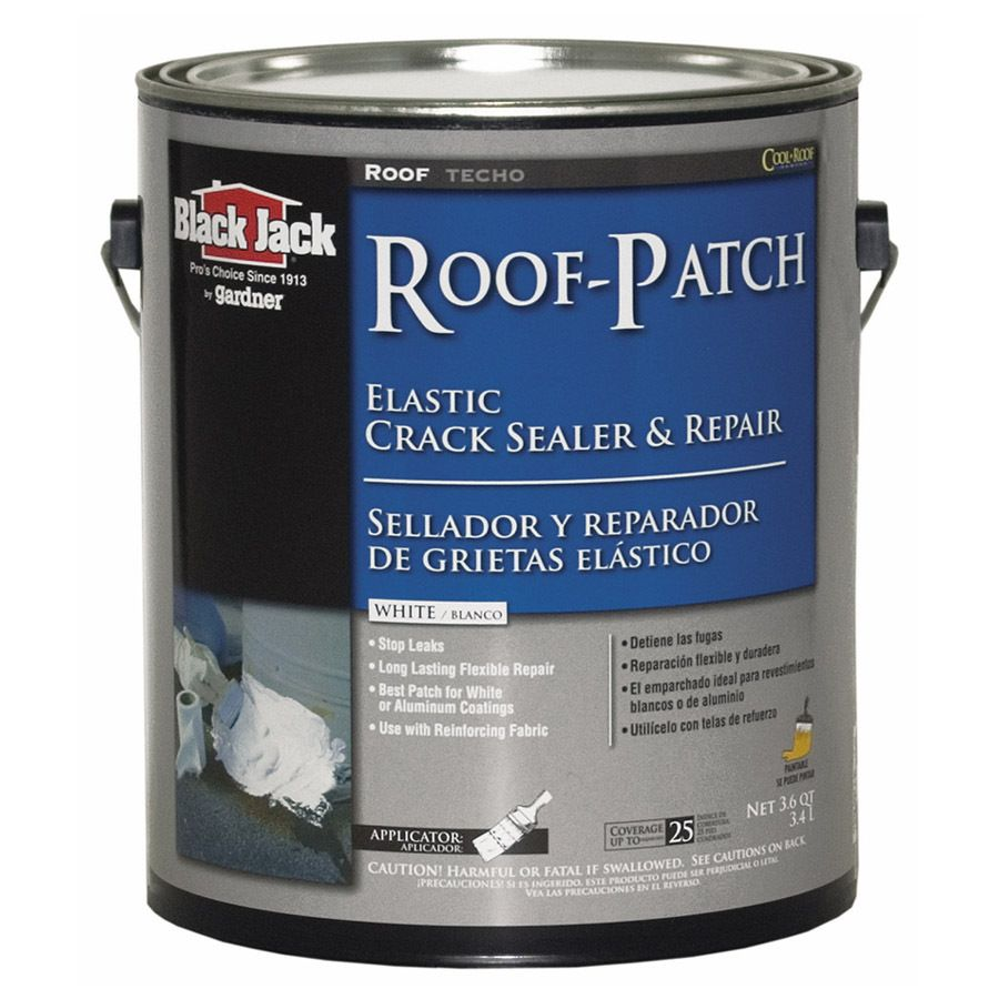 Black Jack 3 6 Quart Elastomeric Roof Sealant Lowes Com Roof Patch Roof Sealant Roof Coating
