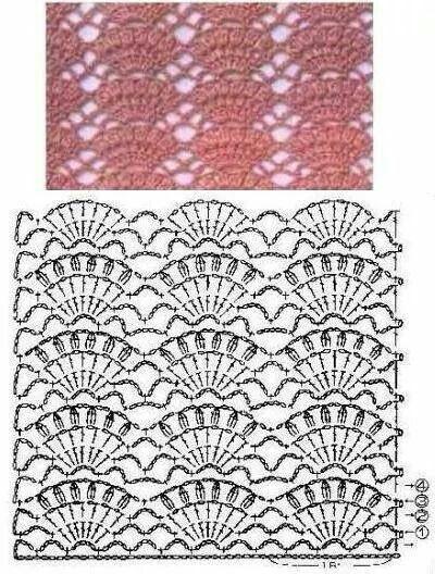 Stitch crochet patteen